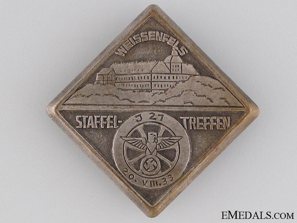 eMedals-1933 J21 Staffel-Treffen Gathering Tinnie