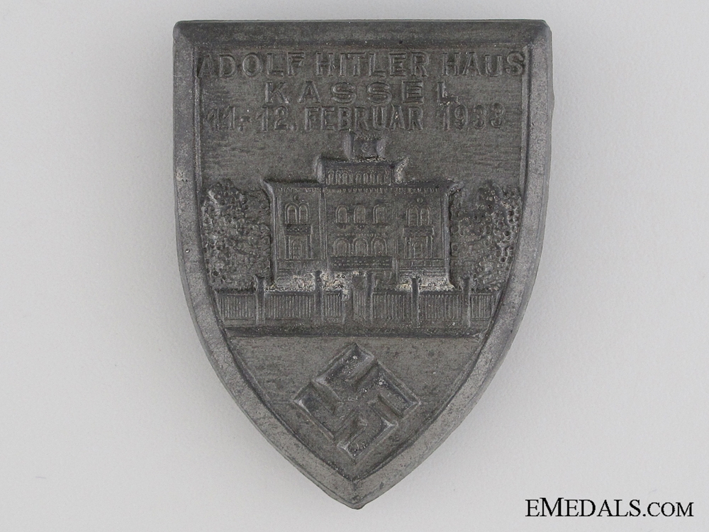 eMedals-1933 Kassel House Tinnie