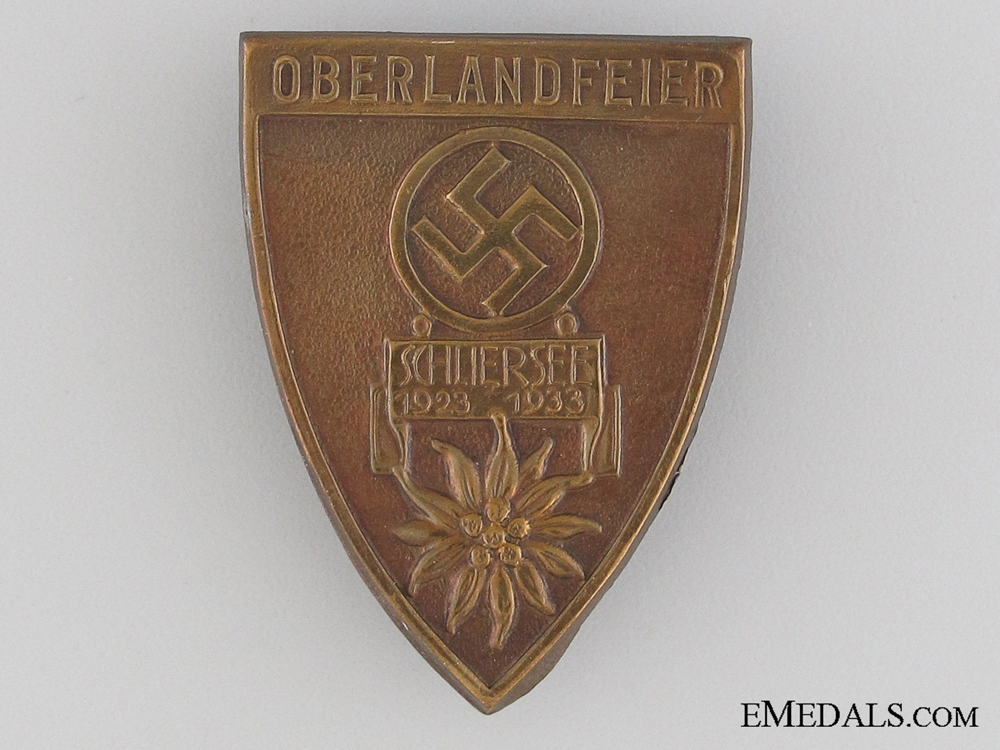 eMedals-1933 Oberland Celebration Tinnie