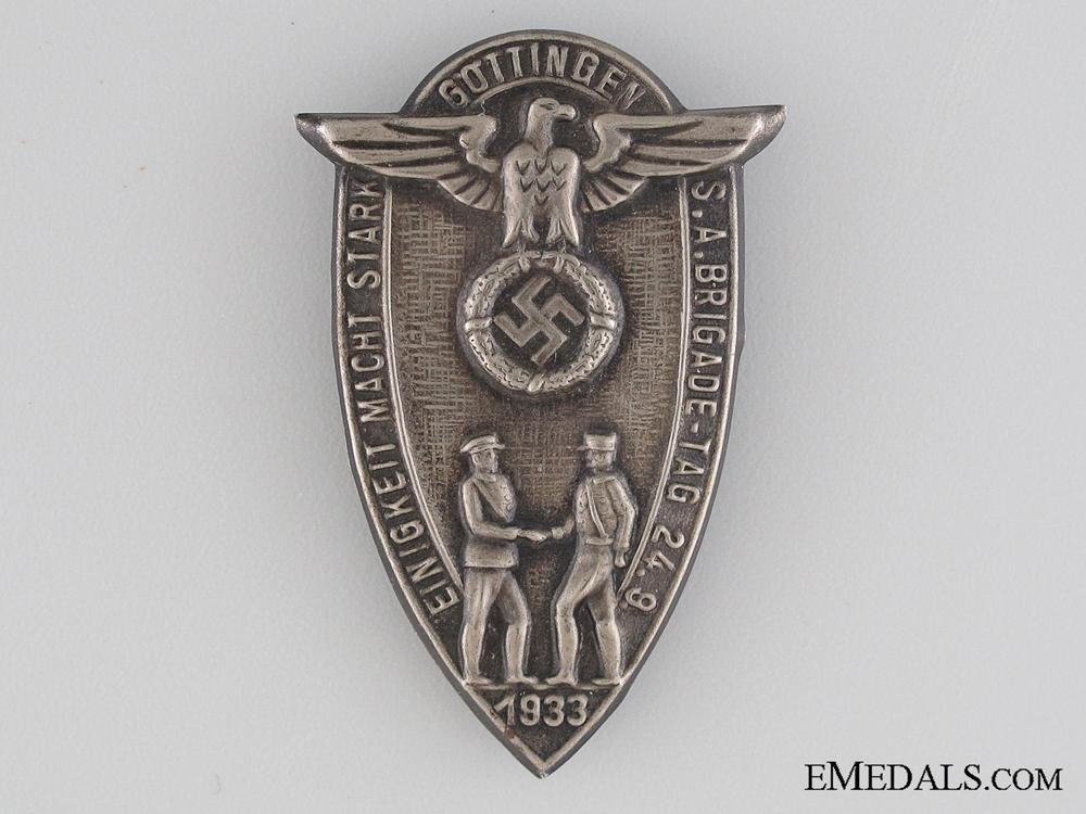 eMedals-1933 SA Brigade Tinnie