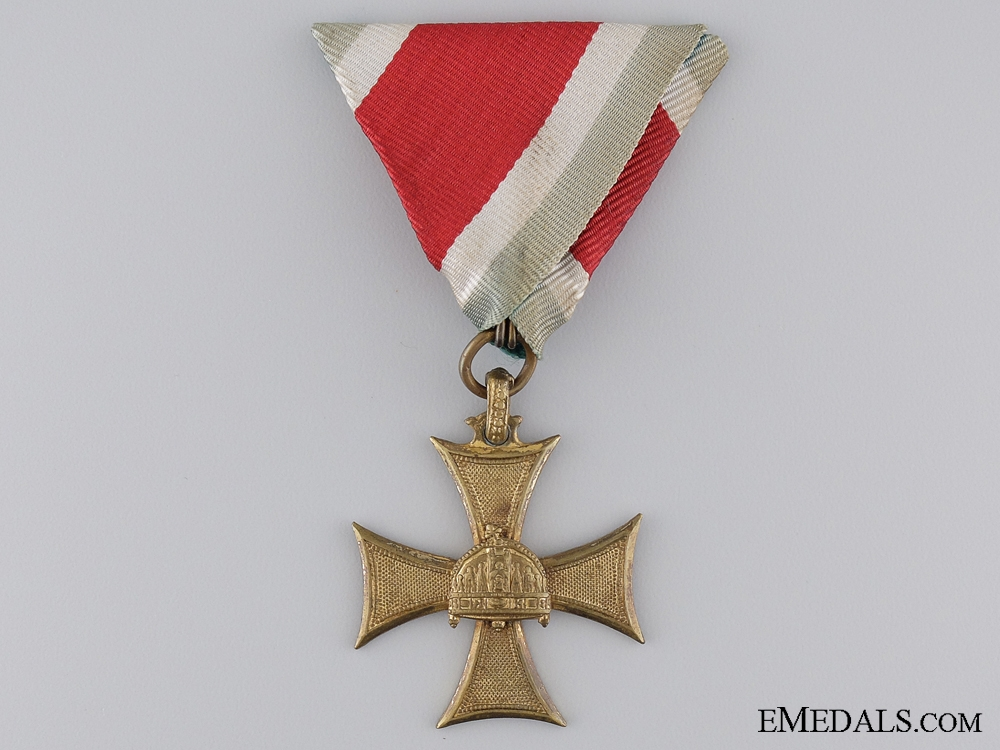 eMedals-1934 Hungarian Long Service Cross