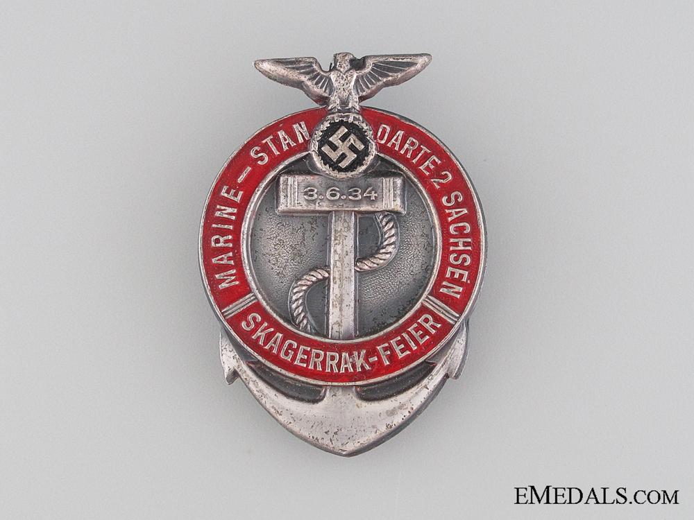 eMedals-1934 Marine-Stan  Darte 2 Sachsen Tinnie