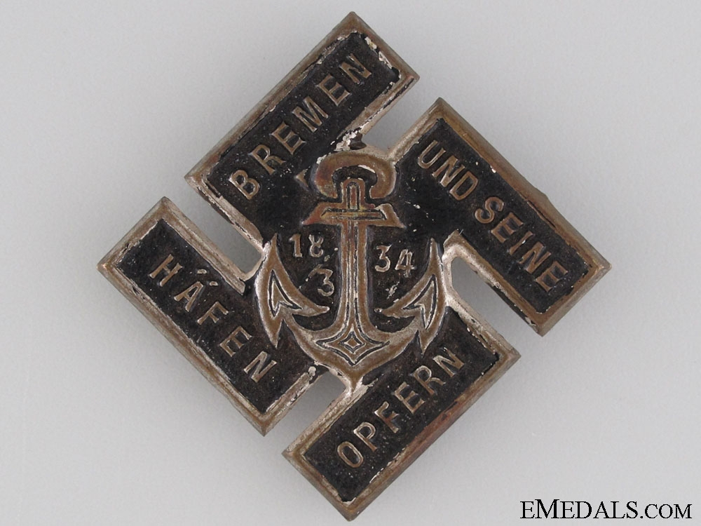 eMedals-1934 Navy Victims Contribution Tinnie