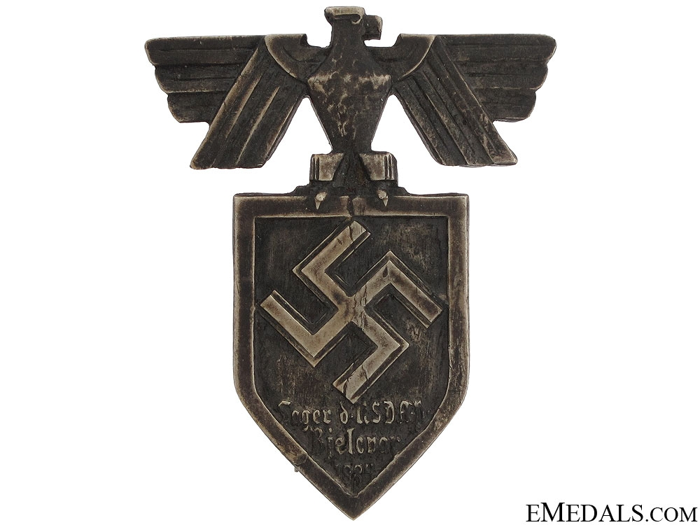 eMedals-1934 NSDAP Camp Bjelovar Badge