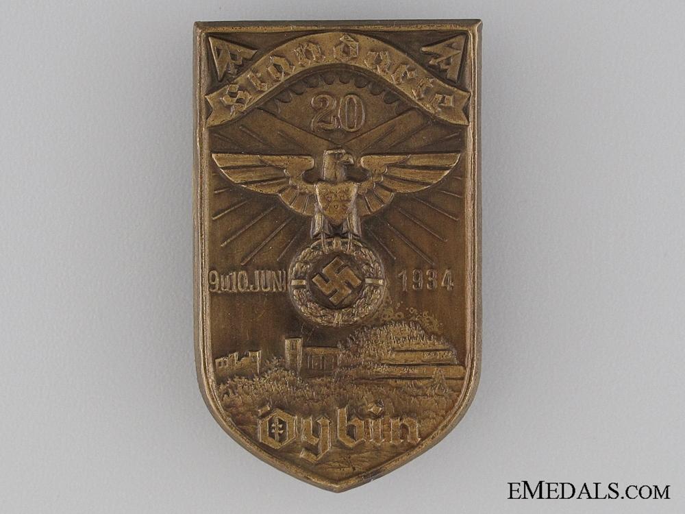 eMedals-1934 SA Oybin Tinnie
