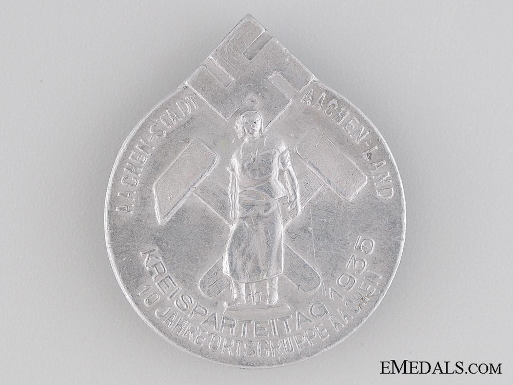 eMedals-1935 Aachenland Tinnie