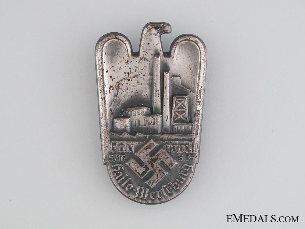 eMedals-1935 Gau Gathering Tinnie