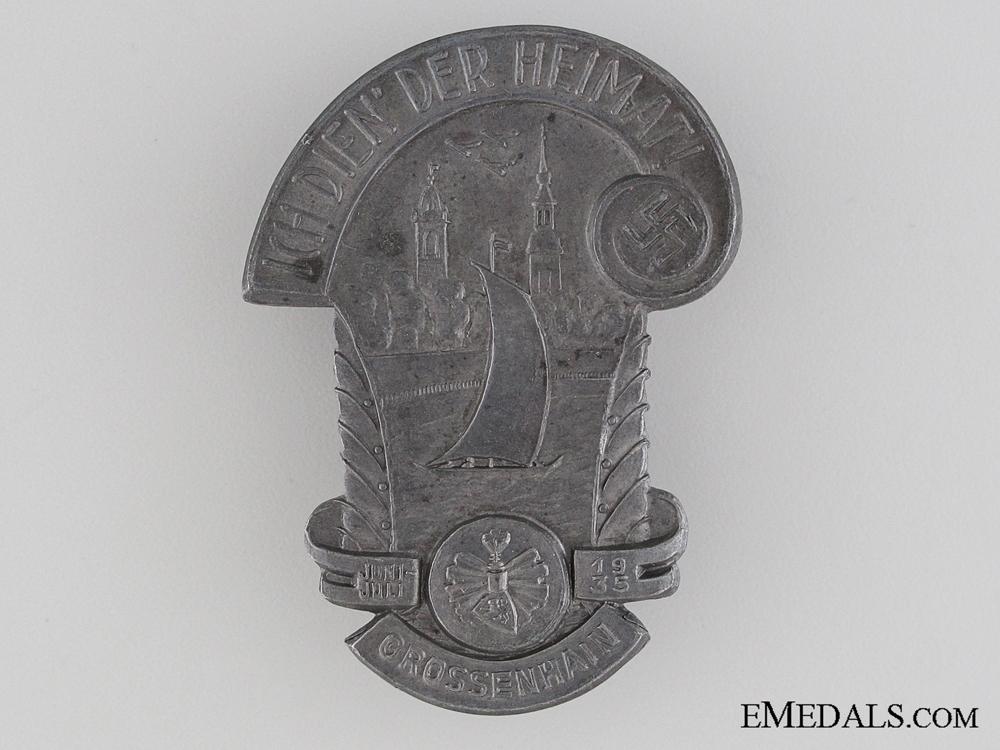 eMedals-1935 Grossenhain Badge