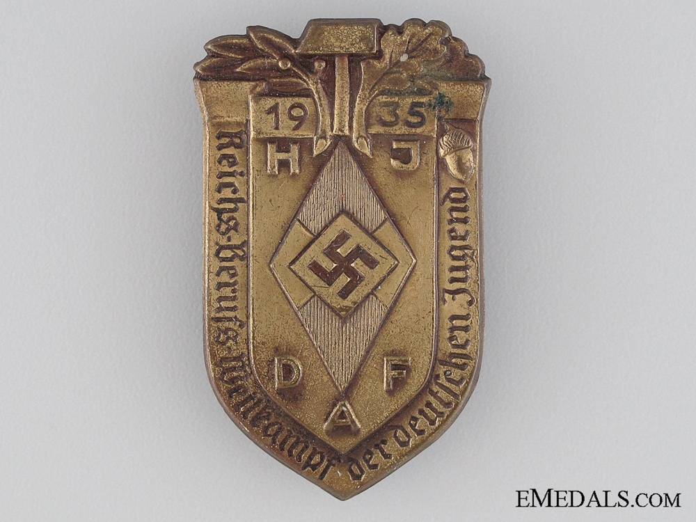 eMedals-1935 HJ DAF Tinnie