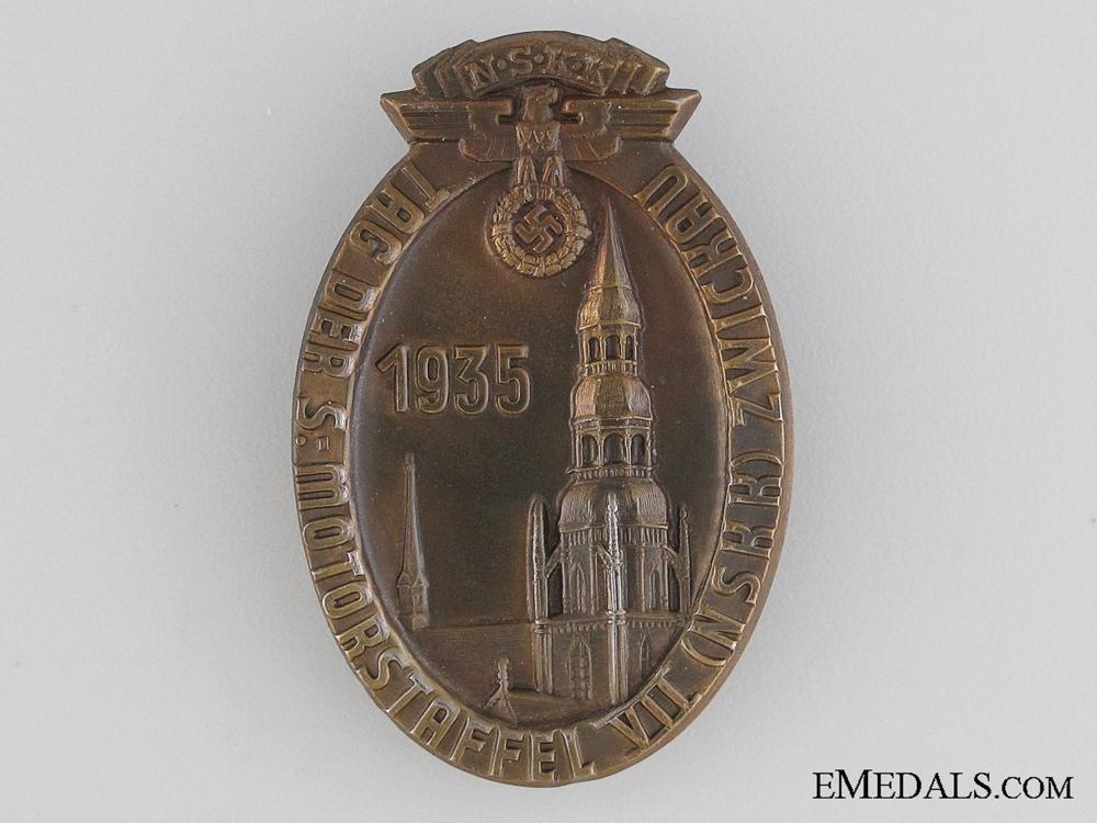 eMedals-1935 NSKK Motorstafeel Tinnie