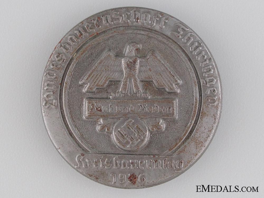 eMedals-1936 Blut und Baden Badge