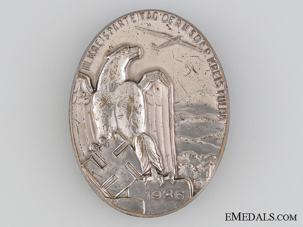 eMedals-1936 NSDAP Gliding Tinnie