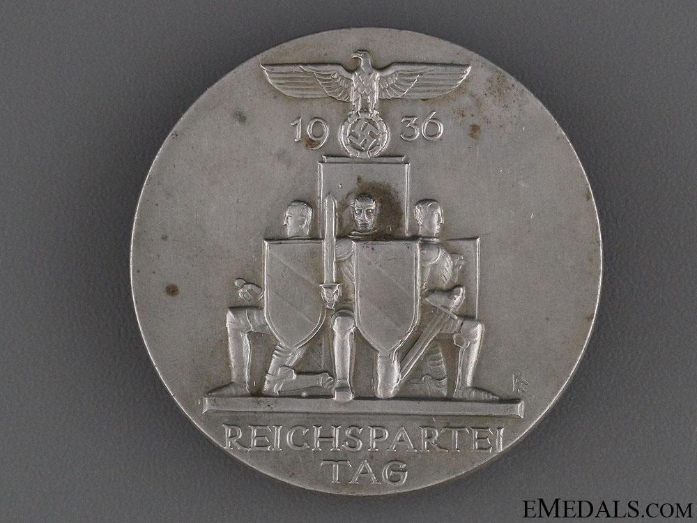 eMedals-1936 Reichspartei Tag Tinnie