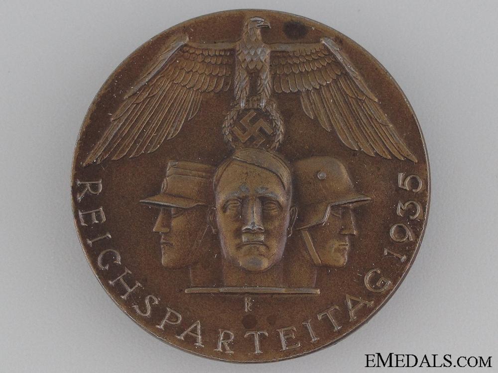 eMedals-1936 Reichsparteitag Badge