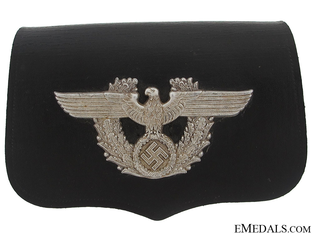 eMedals-1937 Police Pouch by Fischer
