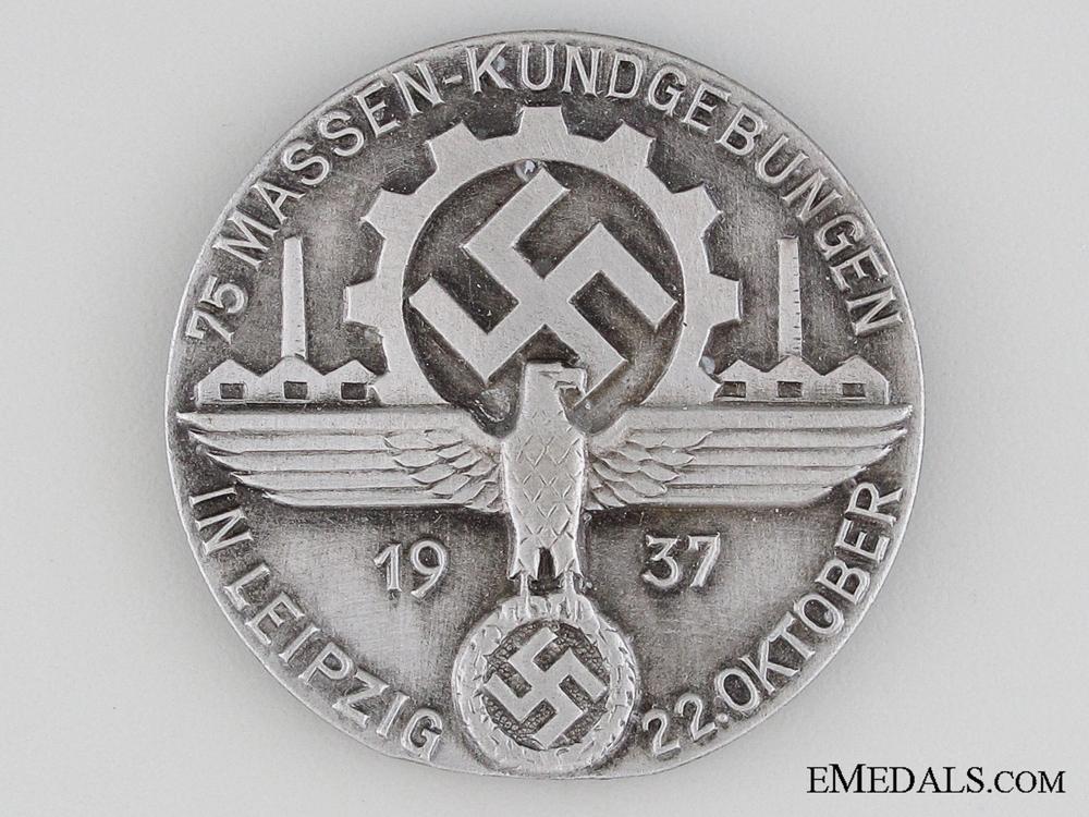 eMedals-1937 RAD Messen - Kundgebungen Tinnie