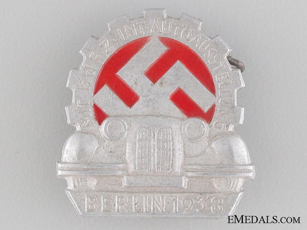 eMedals-1938 Berlin Motor Show Tinnie