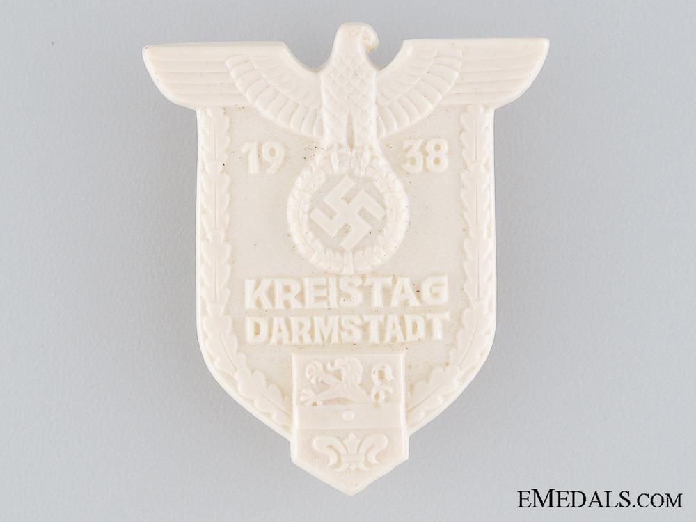 eMedals-1938 Darmstadt Kreistag Tinnie