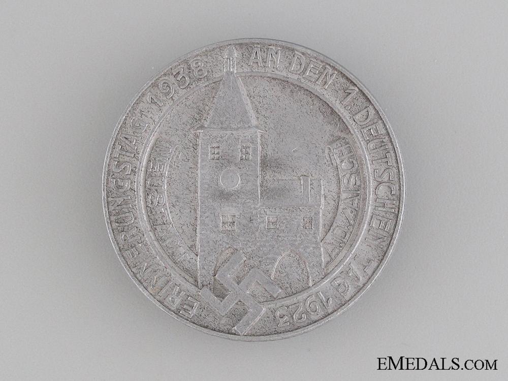 eMedals-1938 Memorial Day Celebration Tinnie