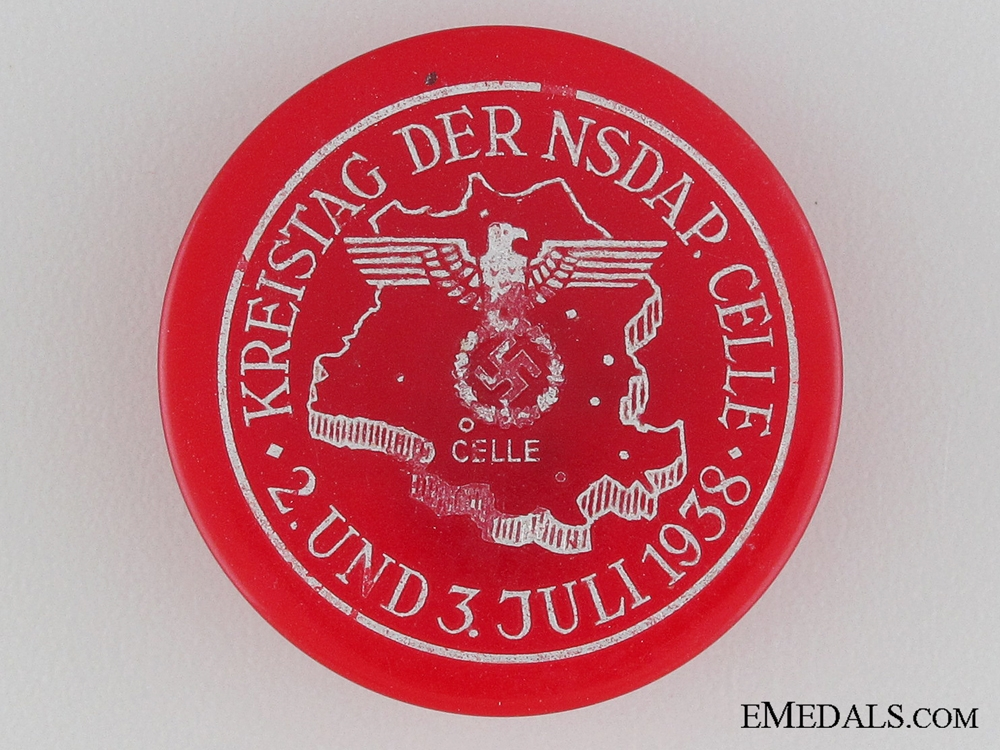 eMedals-1938 NSDAP Celle Badge