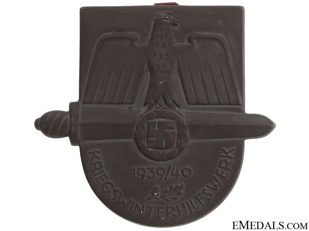 eMedals-1939-40 Winter War Medical Aid Award Plaque