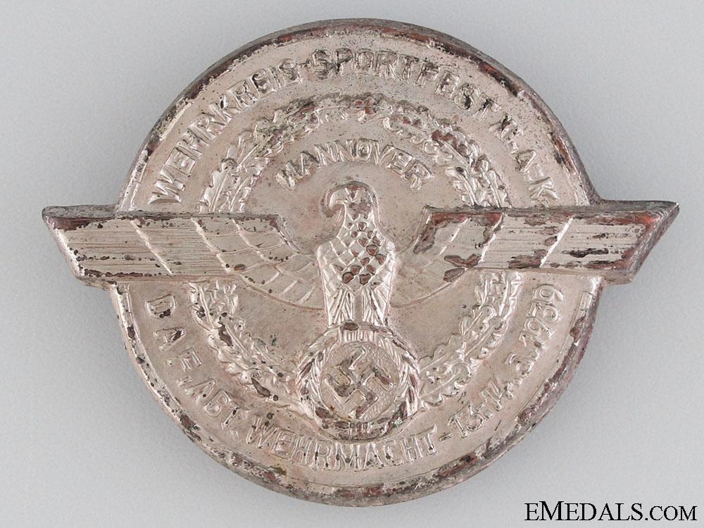 eMedals-1939 DAF Defensive Sportfest Tinnie