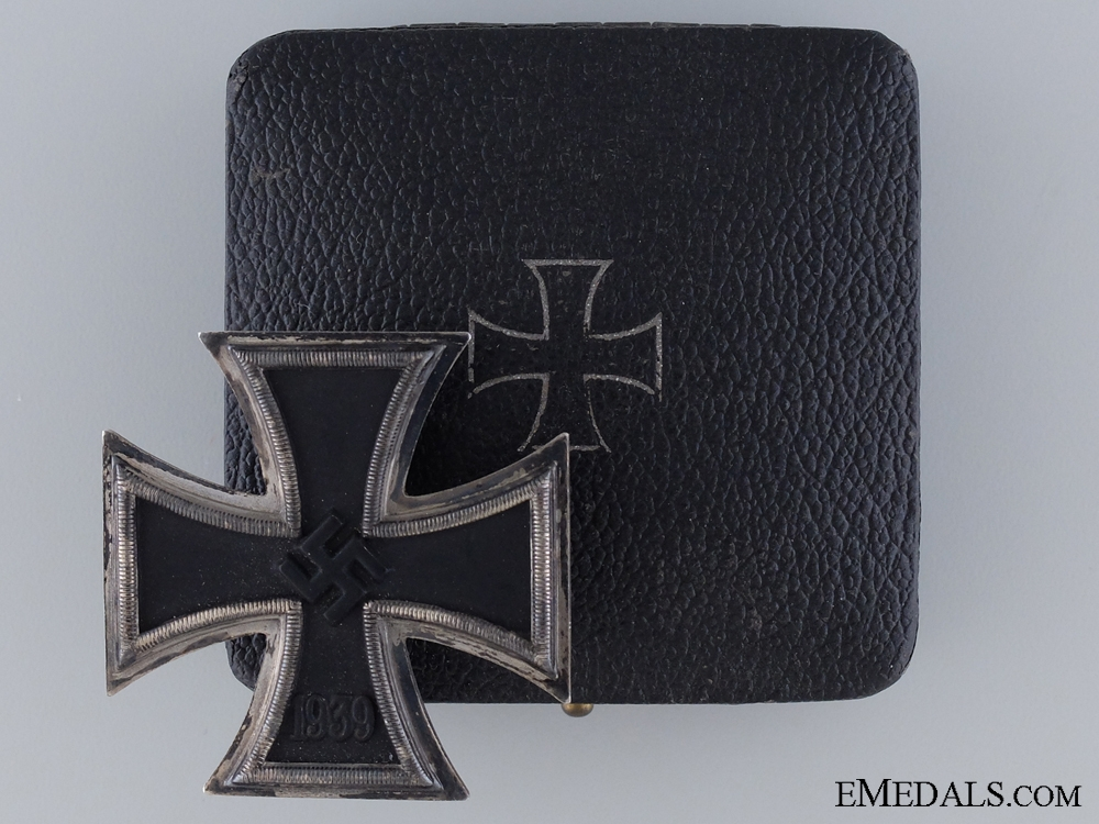 eMedals-1939 First Class Iron Cross by Zimmermann in Case