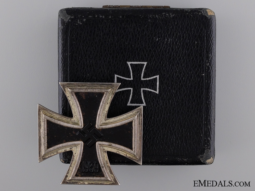 eMedals-1939 First Class Iron Cross; Marked 26; Cased