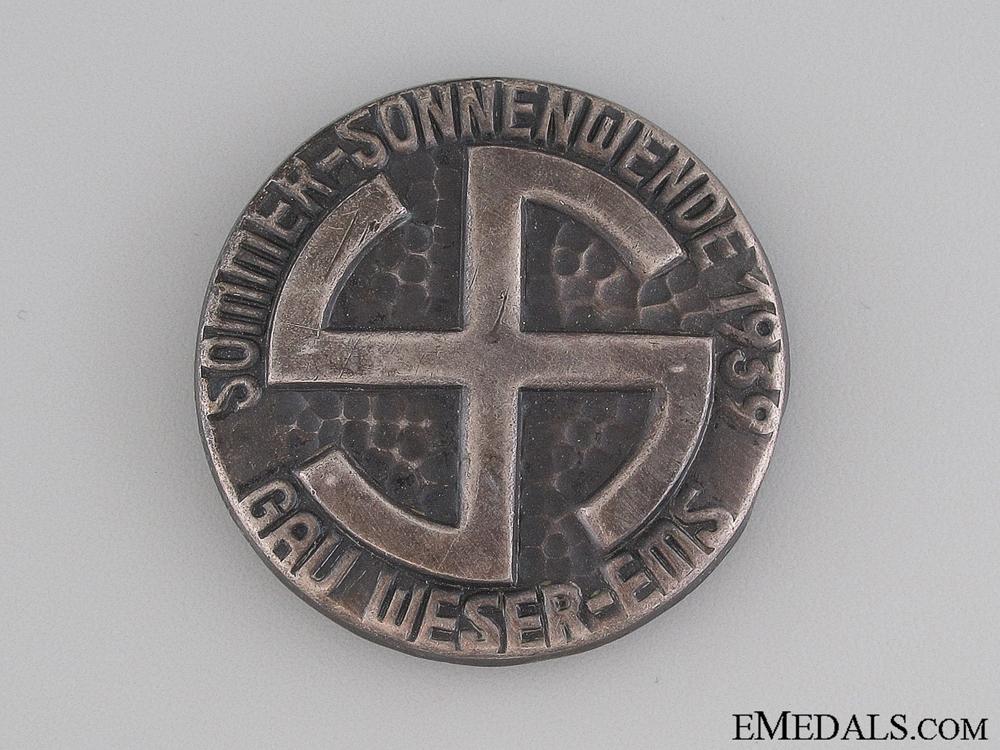 eMedals-1939 GAU Weser-Ems Tinnie