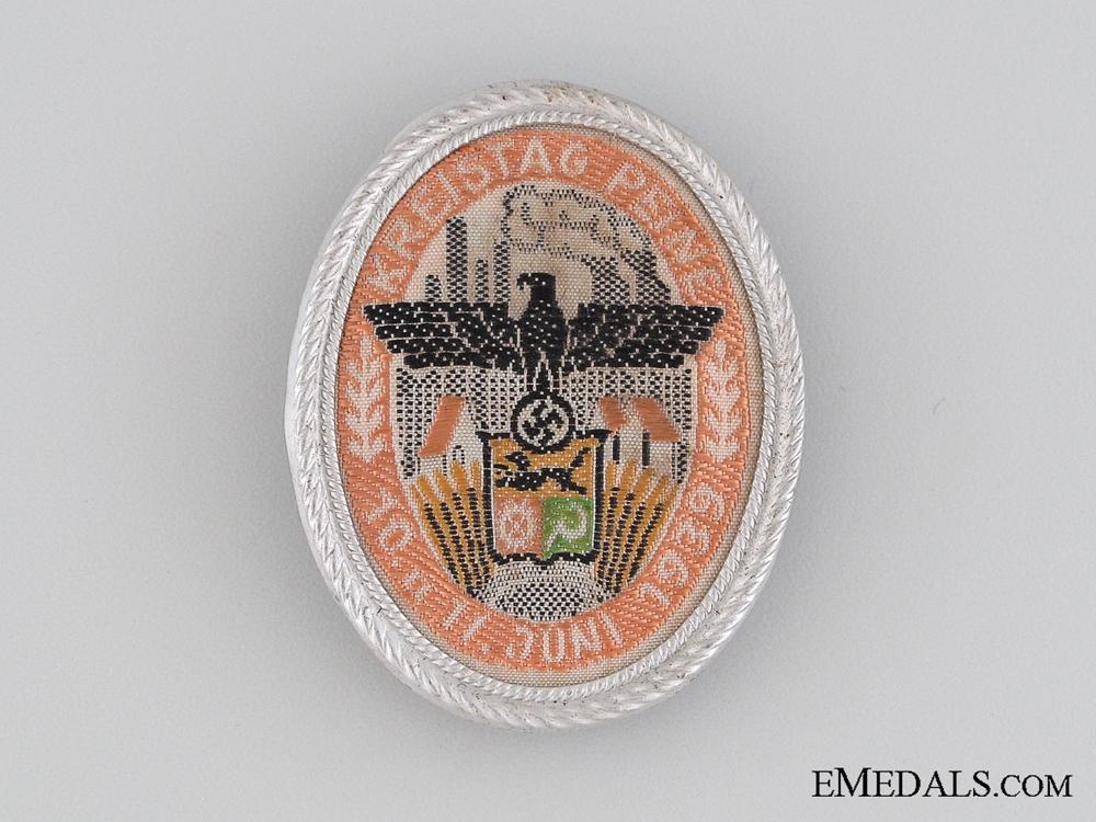 eMedals-1939 Kreigstag Peine Tinnie