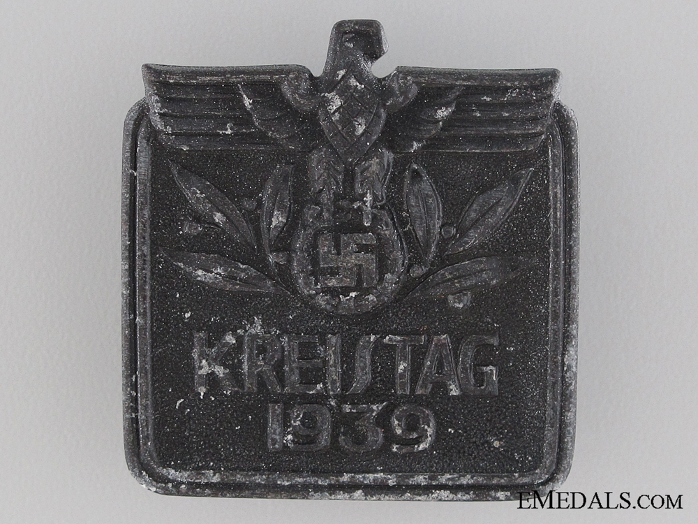 eMedals-1939 Kreistag Tinnie