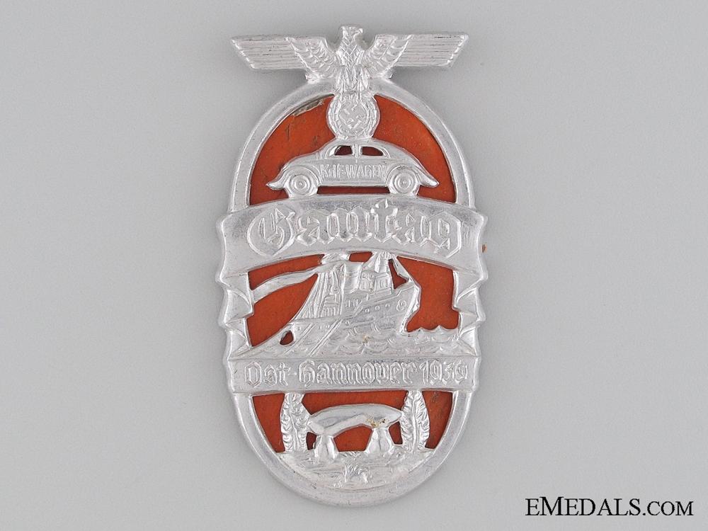 eMedals-1939 Ost-Hannover Gautag Tinnie