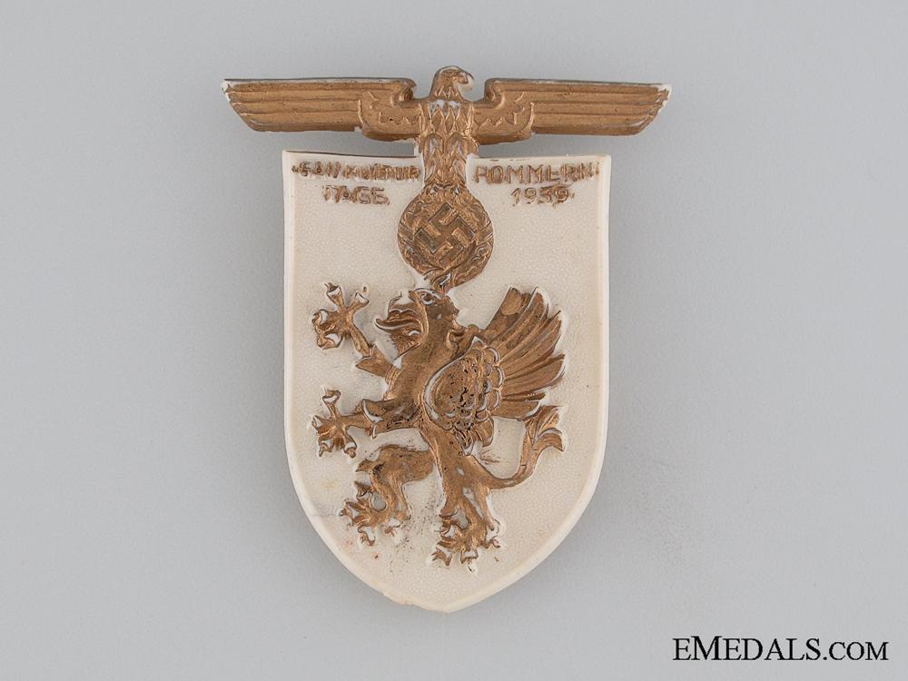 eMedals-1939 RZM Gau Kultur Tage Pommern Tinnie