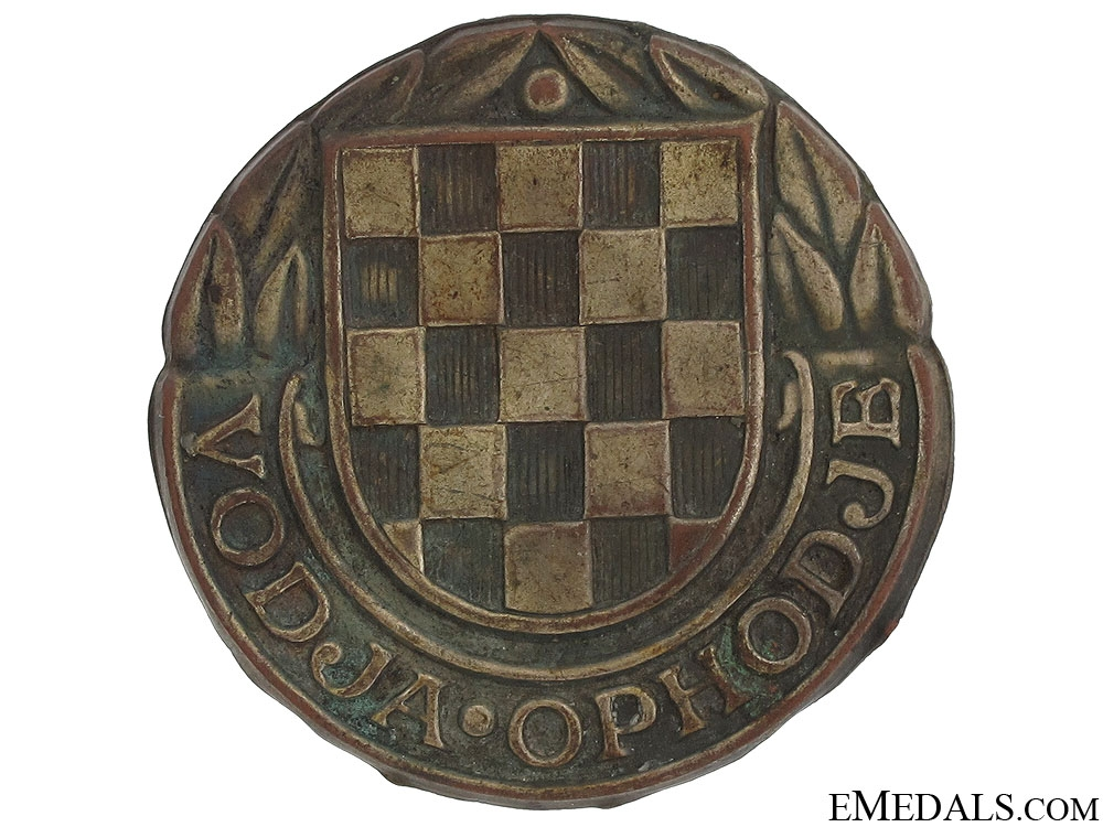 eMedals-1941-45 Gendarmerie Leader's Badge
