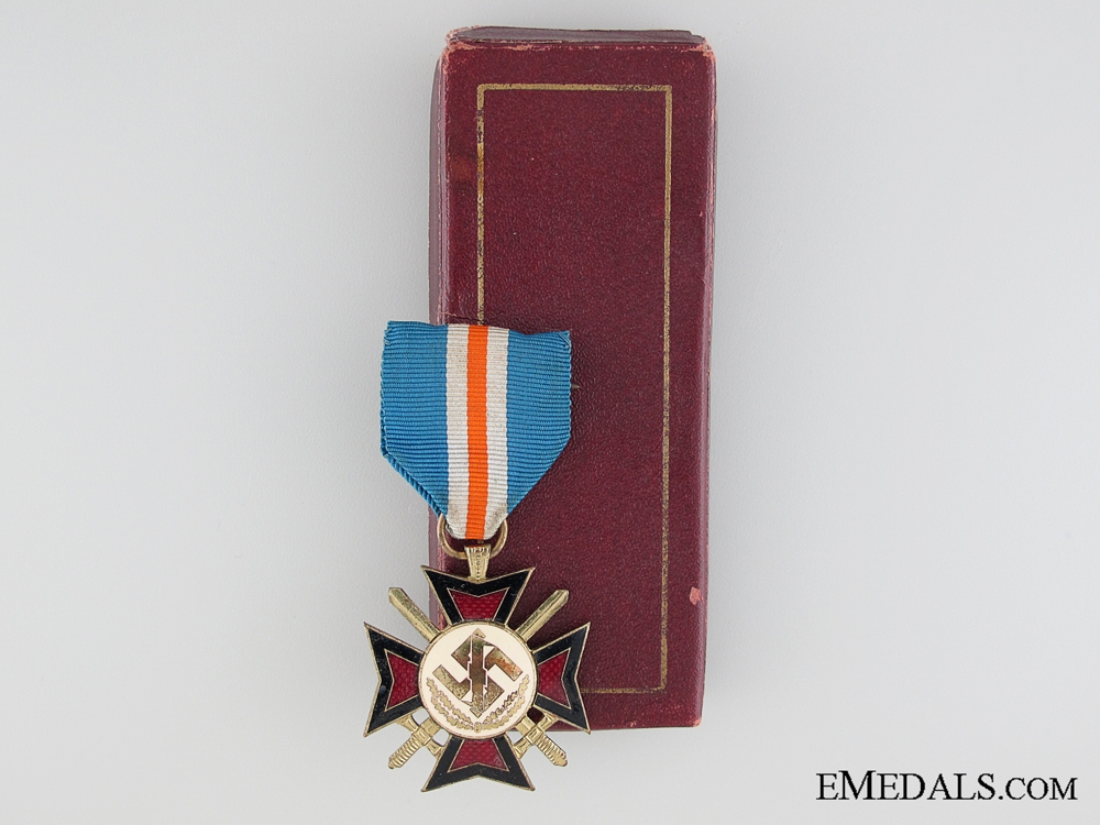 eMedals-1941 Dutch Mussert Cross