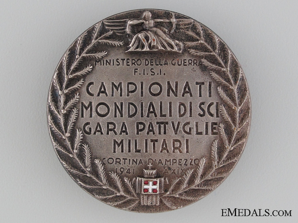 eMedals-1941 Italian Military Games Award