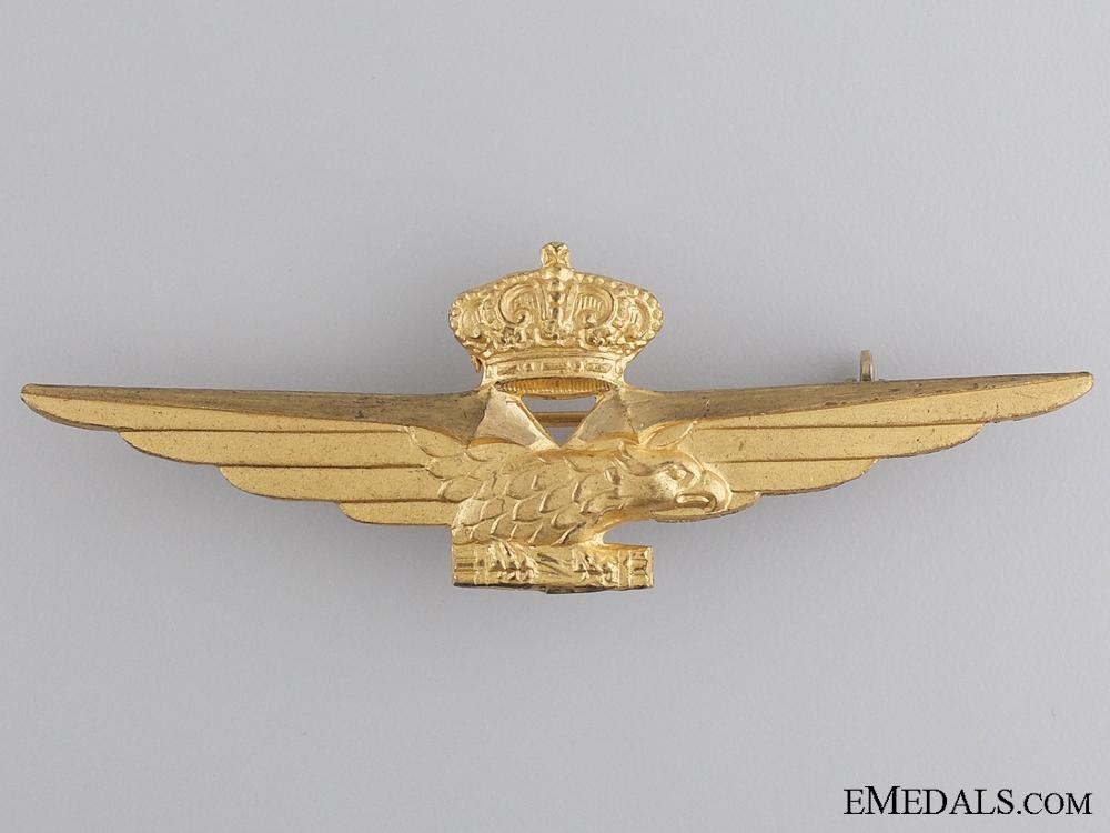 eMedals-1941 Italian Pilot's Badge