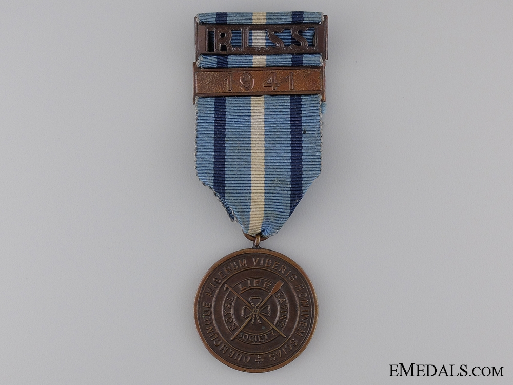 eMedals-1941 Royal Life Saving Society Proficiency Medal; Bronze Grade