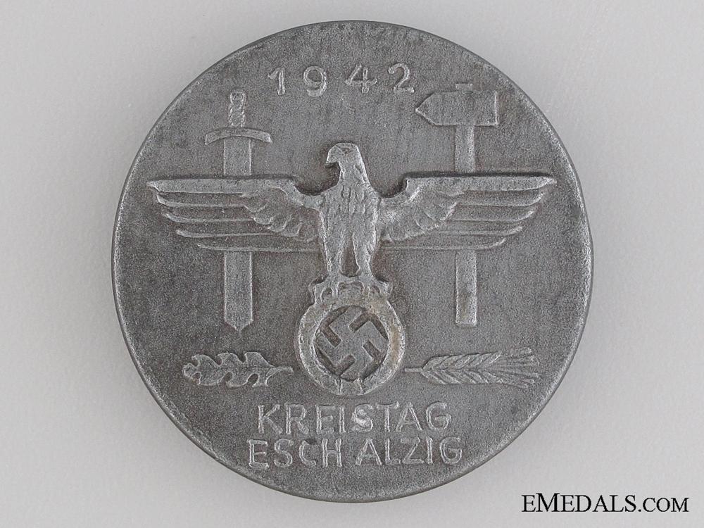 eMedals-1942 War Day Tinnie