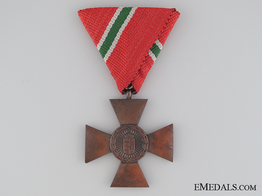 eMedals-1944 Hungarian Civil Defense Merit Cross
