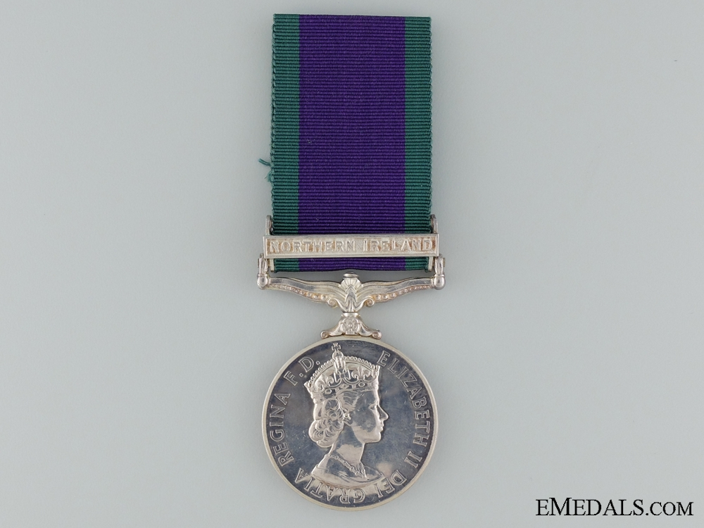 eMedals-1962-2007 General Service Medal to PTE. I.S.Lucas