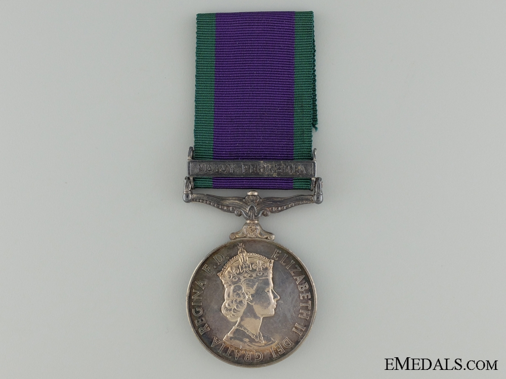 eMedals-1962-2007 General Service Medal to the Gurkha Signals
