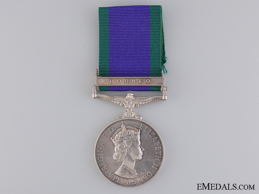 eMedals-1962 General Service Medal to the Gurkha Engineers