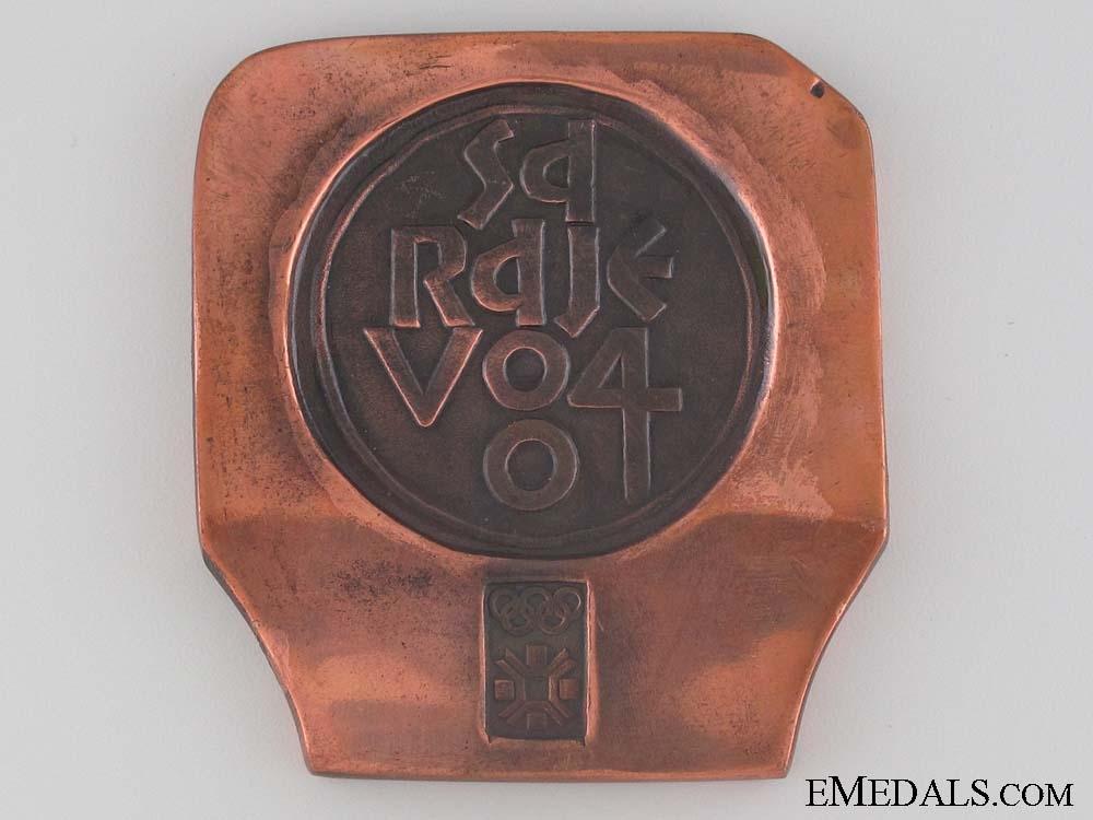 eMedals-1984 Sarajevo Winter Olympics Participants Medal