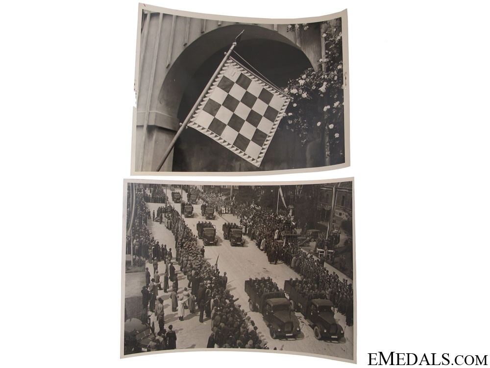 eMedals-1st. Anniversary of Croatian Ind. 1942 Photographs
