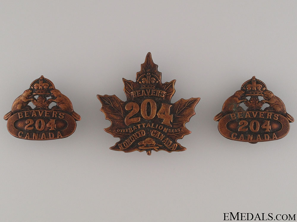 eMedals-204th Canadian Infantry Battalion Insignia CEF