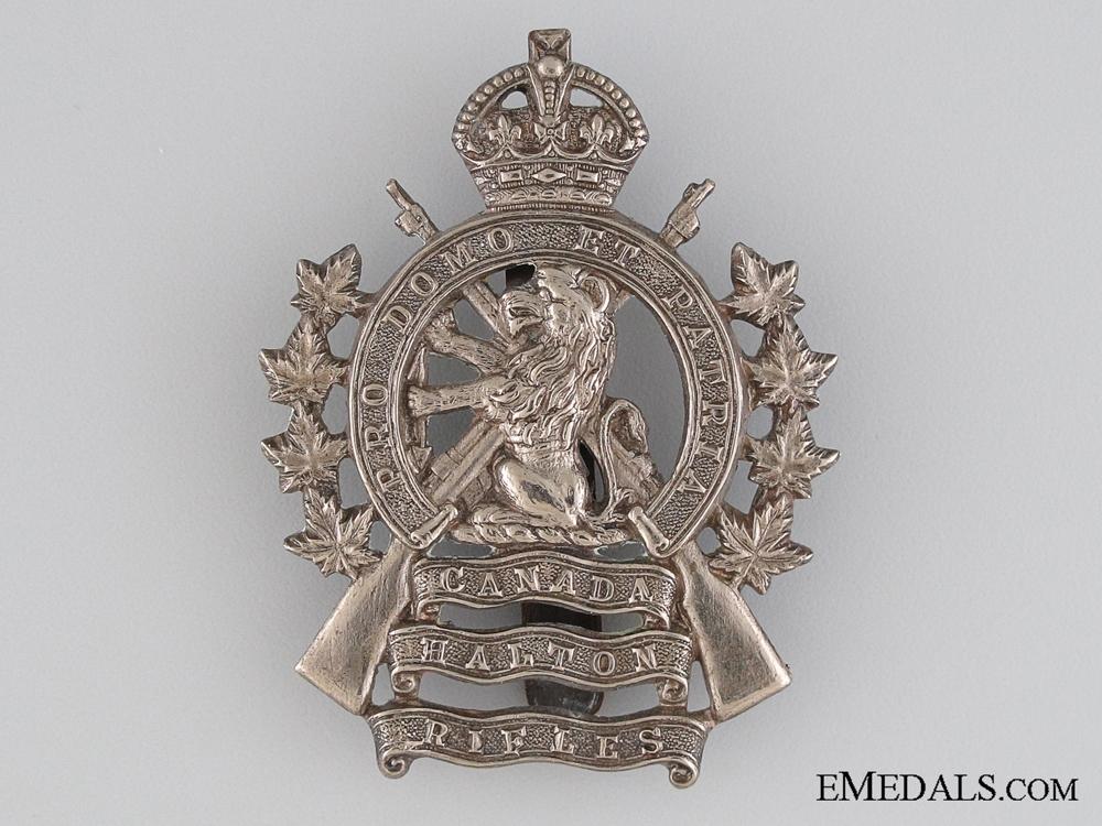 eMedals-20th Halton Rifles Cap Badge