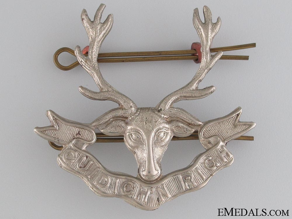 eMedals-231st Bn Seaforth Highlanders of Canada Badge