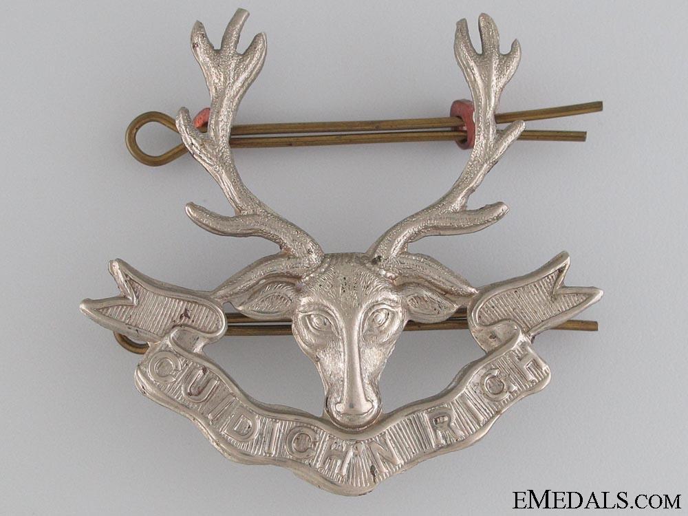 eMedals-231st Bn Seaforth Highlanders of Canada Badge