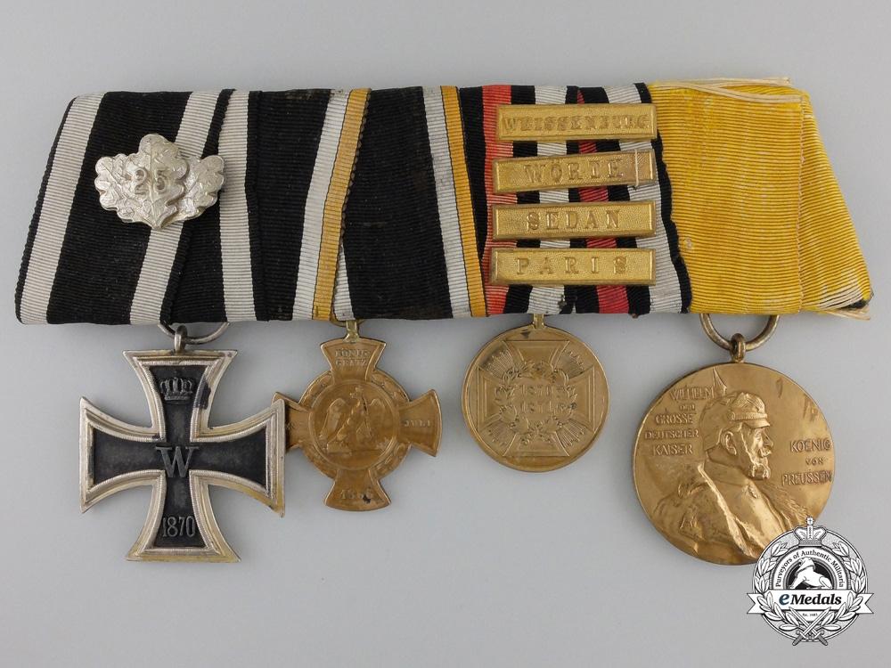 eMedals-A Fine Franco-Prussian War 1870 Iron Cross Medal Bar